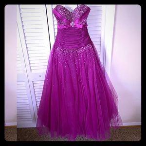 Joli Prom Beaded Ball Gown